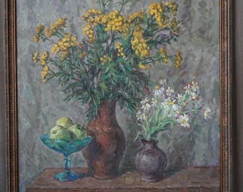 Still life with tansy
