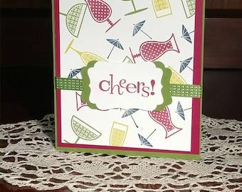 Happy Birthday Cheers! Greeting Card
