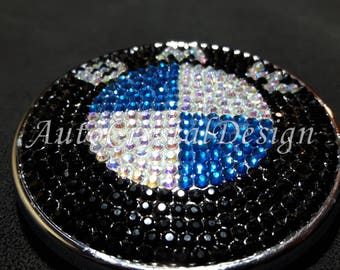 BMW Boot & Bonnet Badges Covered With High Quality Crystals