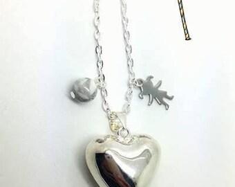 "Pregnancy's Bola ""Silver heart"""