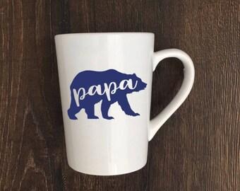 Papa Bear Mug, Papa Bear Coffee Mug, Dadlife, Dad Life