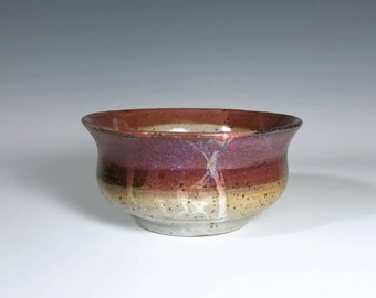 Pink Bowl / Speckled Bowl / Stoneware Bowl / Wheel Thrown Bowl / Handmade Ceramic Bowl / Gift for Her