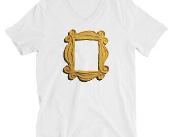 "V-Neck ""Friends Frame"" T-Shirt"