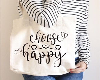 Choose Happy Svg, Quotes Svg, Happy Svg, Inspirational Svg, Life Svg,Dxf,Png,Jpeg