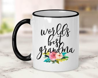 World's Best Grandma Mug // Mother's Day Gift // Grandma Gift