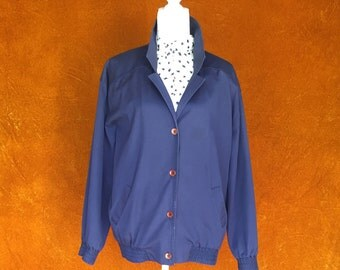 Vintage 1980s Alred Dunner Blue Jacket