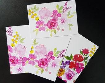 Floral Postcards / Greetings Cards by andflowertales