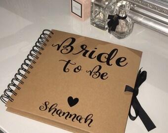 Bride to be scrap book