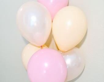 Blush, Pink and Peach Balloons,Blush Balloons,Blush Decor,Pink Peach Blush Latex Balloons, Blush Balloons, Pearl Peach Balloons, Pink Latex,