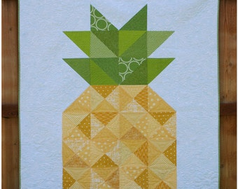 PINA GRANDE quilt pattern with BONUS Pineapple Punch pattern included