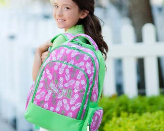 Girl's Pineapple Backpack, Matching Lunchbox can also be purchased