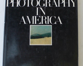 vintage art book, Photography in America, The Whitney Museum of American Art, 1974, free shipping. from Diz Has Neat Stuff