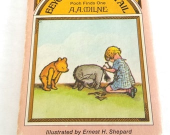 Vintage Miniature Winnie The Pooh Book Eeyore Loses A Tail A A Milne