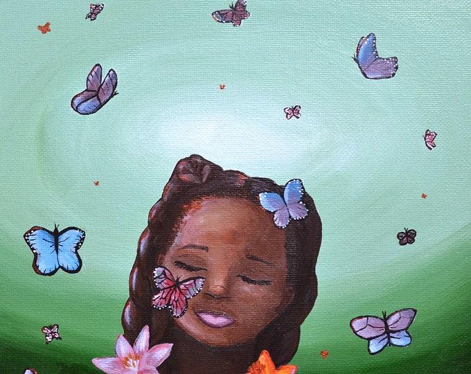 Nkese • 8x10 Original Painting