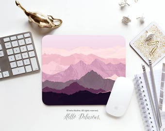 Mousepad Mountains Mousepad Rocky Mountains Mouse Mat Nature Mouse Pad Office Mousemat Rectangular Mousemat Print Mousepad Round 110..