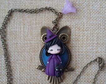 KAWAII Witch necklace