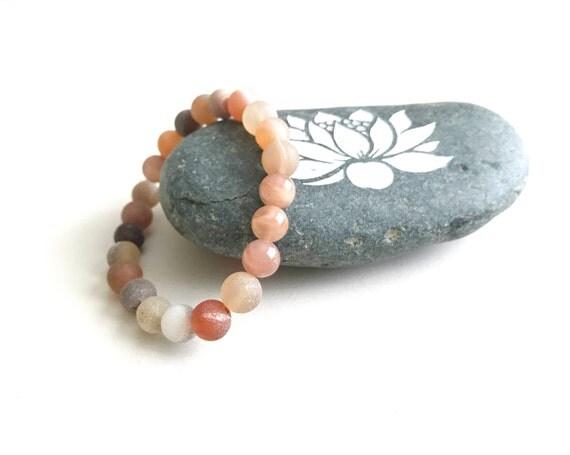 Druzy Agate Bracelet, Match Your Mala Beads, Yoga Jewelry, Mala Bracelet, Boho Chic Bracelet, Bohemian Jewelry