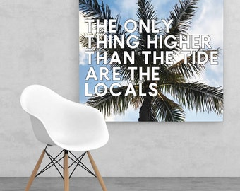 the only thing higher than... print, printable wall art, cannabis gift, cannabis printable art, wall art