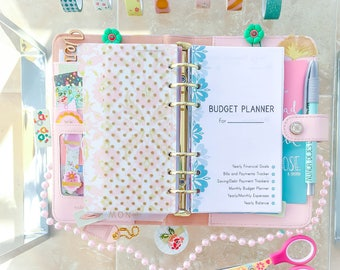 Finance Planner Printable Personal Insert Filofax Budget Planner Inserts Finance Printable Bills Savings Expenses Tracker Personal Planner