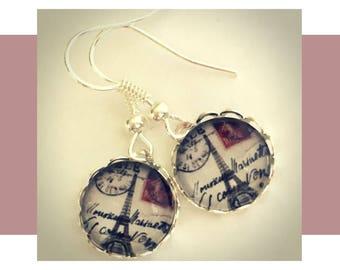 Silver Drop Earrings, Drop Earrings, Silver Earrings, Small Drop Earrings, Small Silver Earrings, Paris Jewelry, French Jewelry