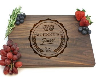 Wood Chopping Board, Cheese Board, Personalized Cutting Board, Dad Gift, Grandpa Gift, Man Gift, Kitchen Decor, Personalized Gift, PTCB010