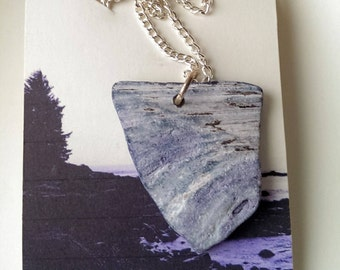 Rough Waters shell pendant necklace