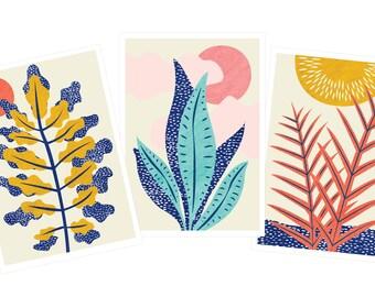Mini Botanic Prints Series