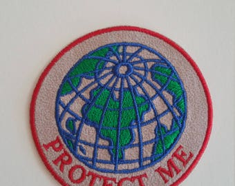 Earth iron on patch Earth iron on applique Globe applique Earth applique Iron on patches Patch globe Applique earth Embroidery applique