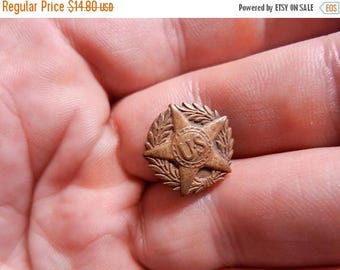 Easter Sale Original WW1 US Army Discharge Button