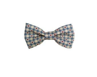 Country Love Dog Bow Tie