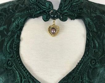 Jody of California Renaissance Victorian Style Dress Fit Flare 80's