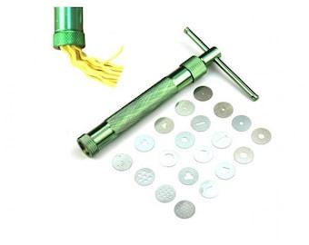 Extruder syringe crank clay Fimo