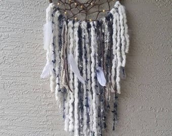 Large Clear Quartz Dreamcatcher
