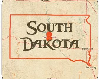 South Dakota Coasters & Other Merchandise