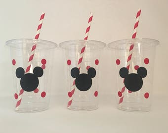 Mickey Party Cups, Mickey Mouse Party Cups, Mickey Birthday