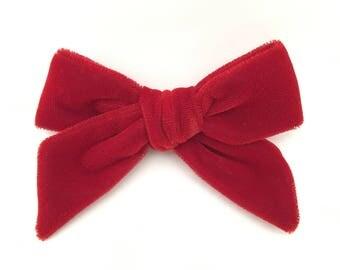 Ruby oversized school girl bow