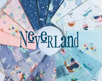 Bundle Neverland by JIll Howarth for Riley Blake Designs- 18 Fabrics Bundle Options