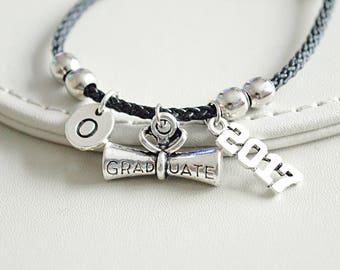 Graduation Gift, Graduation bracelet , Graduation Gift for her, Graduation Gift for him,Graduation present, 2017 graduation ,Student Gift