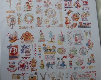 Card Theme works for Embroiderers Parisiennes