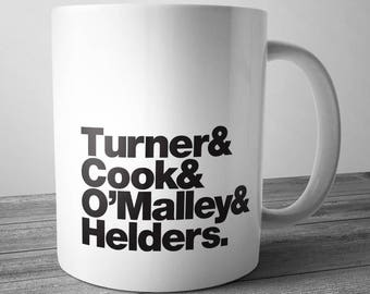 Arctic Monkeys Rock Band Mug