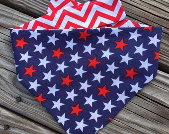 LIMITED!! pLEASE cONTACT BEFORE PURCHASING!! bold stars bandana or bow