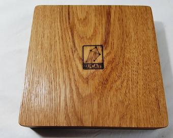 Zucati Dice Base™: Player Core 2 - Oak and Cork