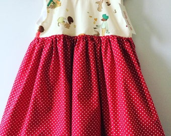 Tea Dress in a Belle & Boo Design 3/4 yrs