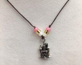 The Princess' Castle Charm Necklace