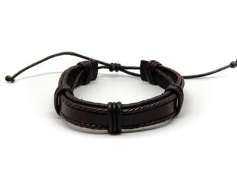 Real Leather Bracelet LONDON