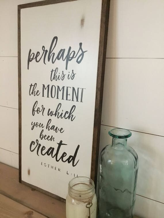 this is the MOMENT sign 1'X2'