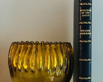 Intruder in the Dust, by William Faulkner, First Edition, First Issue, finely leather bound by Asprey