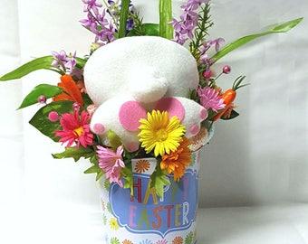 Bunny Butt Easter Decor, Easter Centerpiece, Easter Bunny Decor,