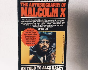 """Vintage Copy of """"The Autobiography of Malcolm X"""""""