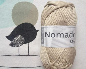 WOOL MIX PuTTY - white horse Nomad
